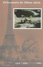 EVENTS OF 20th CENTURY FIRST SPACE BUGGY ON THE MOON NIGER 1998 MNH STAMP SHEET