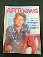 1986 ARTnews MAGAZINE Eric Fischl Elgin Marbles George McNeil Brooklyn Museum