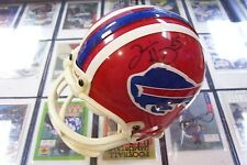 2001 ABSOLUTE MEMORABILIA SIGNED MINI HELMET TRAVIS HENRY BUFFALO BILLS 158/226