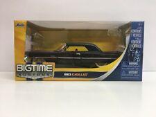 Jada Toys Big Time Kustoms 1963 Cadillac 1:24 Diecast Metal Black