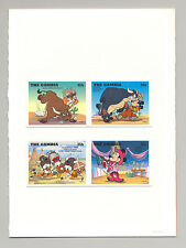 complete Issue Unmounted Mint Never Hinged 1991 Walt-disney- Gambia Block121