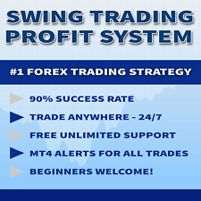 FOREX: Easy Swing Profit Strategy. 90% success. **Buy One Get One FREE**