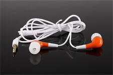 3.5mm Stereo Kopfhörer In-Ear Sport headset für Smartphone MP3 MP4 Player Orange