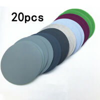 20pcs 75mm 800-3000 Grits Sandpapers Disc Wet Dry Sanding Sheets Sander Pads