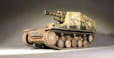 1:35 Scale Wwii German Wespe Model Tank (Built+Display Case)