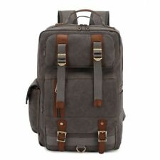 Leather Backpack School Bags for Men