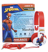 Spider-Man KID SAFE WIRED HEADPHONES for Birthday Gift