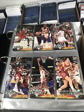 1993-94 NBA Jam Session Complete Card Set (1-240) -- Michael Jordan W/ Inserts