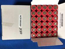 30 of Panasonic/Sanyo NCR18650BF Rechargeable Lion 3.7v3350mAh Flat For Packs...