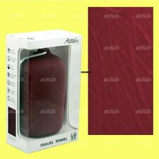 Matador NanoDry Nanofiber Shower Towel for Gym Beach Hiking Car Camping - Red