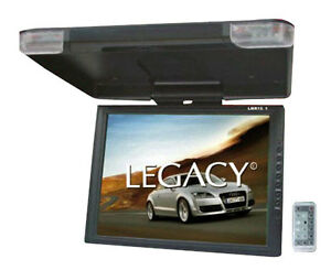 "LEGACY LMR15.1 15"" LCD TFT Car/SUV/TRUCK Flip Down Roof Mount Monitor TV IR"