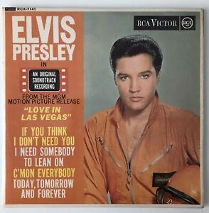 """ELVIS PRESLEY EP - 1966 - """"LOVE IN LAS VEGAS"""" - RCA Victor - RCX7141 - *EX/EX*"""