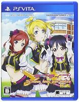 USED ​​PS Vita Love Live School Idol Paradise Vol.2: BiBi game soft Japan i