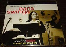 NANA MOUSKOURI FRANCOISE HARDY  INTROUVABLE COFFRET DOUBLE DVD CAR MUSIC IMPORT
