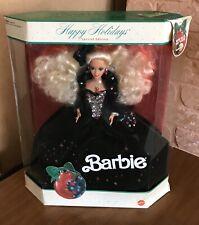 Happy Holidays 1991 Barbie Doll NRFB