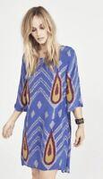RAPSODIA divine Sasha Tina Printed Shift Tunic Dress Size S