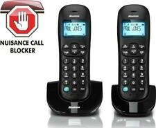 Twin Pack Cordless Binatone Vesta 1305 Wireless Telephones for Home Office
