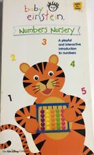 Baby Einstein: Numbers Nursery VHS-TESTED-RARE VINTAGE COLLECTIBLE-SHIPS N 24 HR