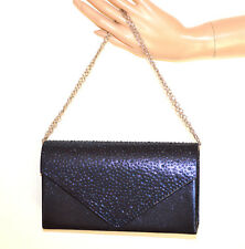 5cbc05d927 POCHETTE BLU donna borsello strass borsetta cristalli borsa clutch elegante  G34