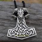 Thor Hammer Nodic Vikings Runes Pendant Necklace  photo