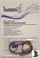 Soundtraxx ~ New 2020 ~ Tsunami 2 ~ TSU-1100 ALCO Diesel ~ Sound Decoder ~885003