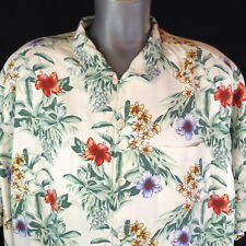Tommy Bahama NWT $138 Breakaway Blooms 2XB 100% Silk Mens Camp Shirt Continental