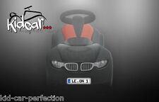 2 Wunschkennzeichen für BMW Baby Racer 3 III (Kfz Kennzeichen Nummernschild)