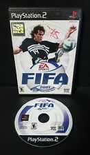 FIFA 2001: Major League Soccer (Sony PlayStation 2, 2000) PS2 No Manual