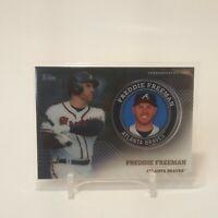2020 Topps Series 2 Freddie Freeman Commemorative Medallion Coin #TPM-FF Braves