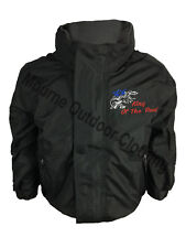 Scania V8 Kids Boys Regatta Fleece Lined Waterproof Jacket with Embroidered Logo