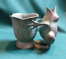 Oxidised Copper Frog Vase & Pot