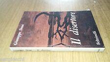 GIUSEPPE DESSì-IL DISERTORE-1962-FELTRINELLI-copertina rigida - SL37