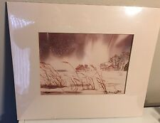 Barbara N Stole Watercolor Lithograph Limited Edition Signed Print