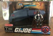 "NEW GI Joe Cobra HISS Tank Vehicle 2007 Driver 4"" Action Figure 25th Anniversary"
