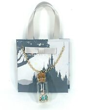 Disney Parks Kingdoms+Castles Little Mermaid Sand Jar Necklace Gift Bag New