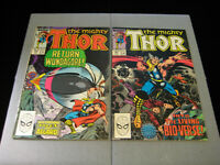 Thor #406 and #407 (Marvel, 1989)