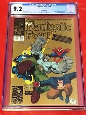 FANTASTIC FOUR 348 CGC 9.2 GOLD Spider-Man Hulk Adams Thibert Simonson 1991