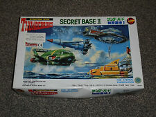 IMAI : THUNDERBIRDS SECRET BASE II RARE AUTHENTIC MODEL KIT - NEW (FREE UK P&P)