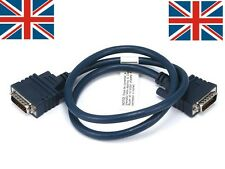 DCE/DTE DB60 Crossover Cable - 3FT Cisco Router - UK SELLER