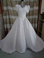 (6)Edles Damen Braut Standesamt Abend Kleid GR: GR: 42