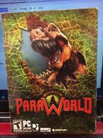 RARE- ParaWorld PC, 2006 BRAND NEW SEALED Jurrasic Park World Computer Game Para
