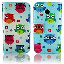 Owl Plain Synthetic Leather Mobile Phone Cases/Covers