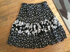juniors elastic waist polyester skirt size extra small / small xs/s