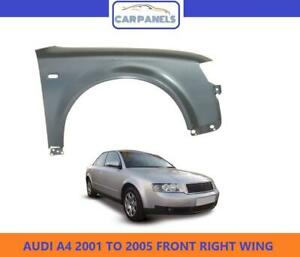 AUDI A4 B6 FRONT WING 2001-2005 RIGHT DRIVERS SIDE SALOON/ESTATE ONLY 8E0821106B