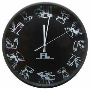 FUTURA LABORATORIES 2000 WALL CLOCK BLACK Rare Limited FL Pointman Brand New