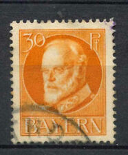 Bavaria 1914 SG#184A 30pf Orange Used #A62531