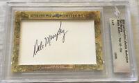 Dale Murphy 2018 Leaf Masterpiece Cut Signature 1/1 autographed signed card JSA