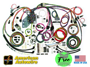 American Autowire Severe Duty Universal Complete Wiring Harness - #510564