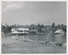 PAPEETE c. 1940 - Hôtel du Lagon Bleu Tahiti Océanie - GF 242