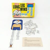 Vintage Long Leg Wins Guardsman Games Complete Retro and Fun 2 Player Game